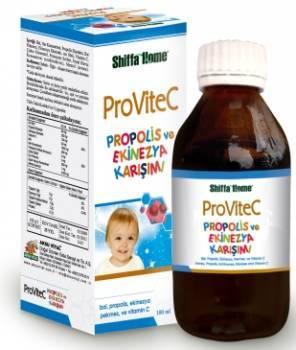 Provitec Vitamin Syrup Honey Propolis Extract Echinacea 100 Ml