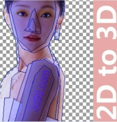 Psdto3d101 3d Lenticular Software
