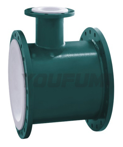 Ptfe Lined Tee Pipe Fitting