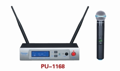 Pu 1168 100 Ch 1 Handheld Uhf Wireless Microphone