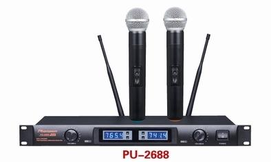 Pu 2688 Single Channel Uhf Wireless Microphone