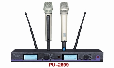 Pu 2899 Charging Uhf Wireless Microphone
