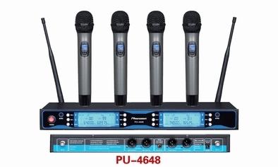 Pu 4648 Sync Ir Uhf Wireless Microphone