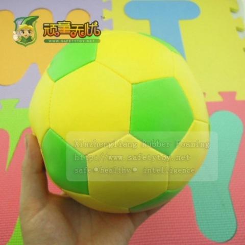 Pu Foam Ball Kids Football Soft Soccer For Children