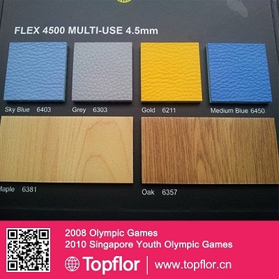 Pvc Indoor Sports Flooring Flex Series