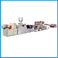 Pvc Lacquer Free Board Production Line Extrusion Extruder