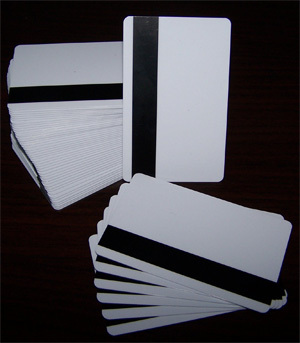 Pvc Magnetic Strip Card