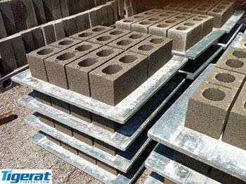 Pvc Pallet For Block Machine