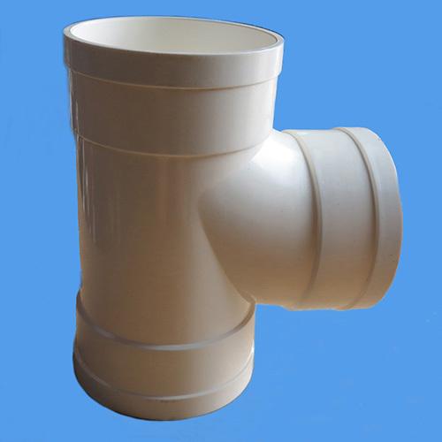 Pvc Plastic Dwv Tee Socket Draining