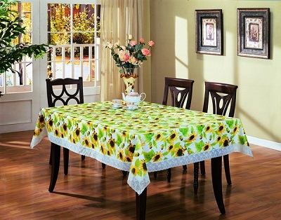 Pvc Tablecloth With Non Woven Backing