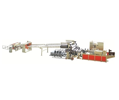 Pvc Transparent Soft And Rigid Sheet Extrusion Line