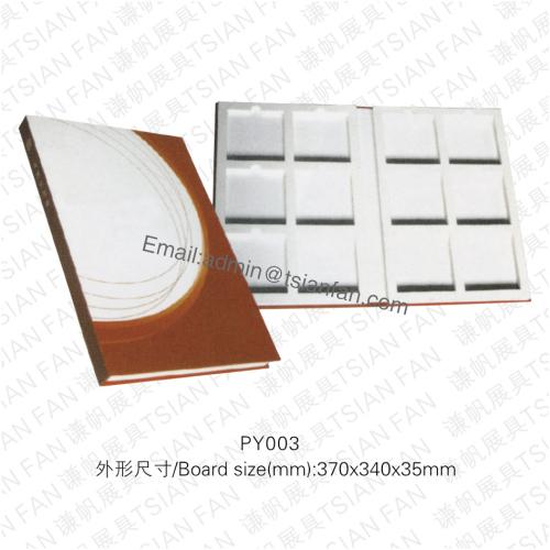 Py003 Cardboard Stone Tile Sample Book