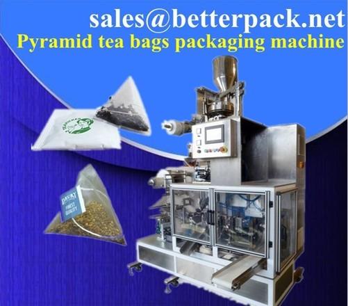 Pyramid Tea Bags Packaging Machine Bagging Machinery