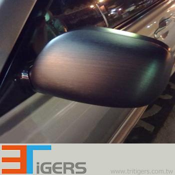 Q253 Brushed Metallic Pvc Car Sticker Aluminum