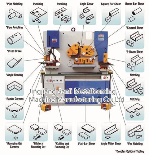 Q35y Hydraulic Ironworker