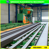 Q69 Pass Through Sand Blasting Machine