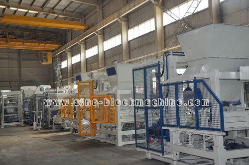 Qft 4 15 001concrete Block Making Machine