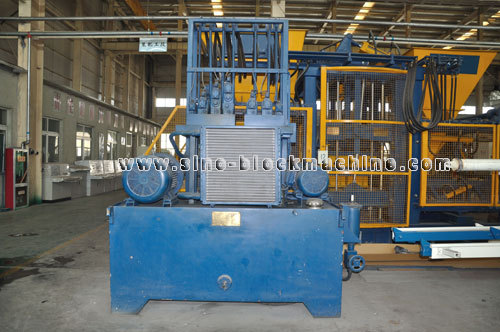 Qft 4 15 Concrete Block Making Machine