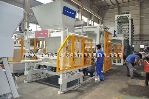 Qft 9 18 Concrete Block Making Machine Transmission Equipment Shafts