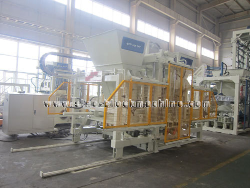 Qft 9 18 Concrete Block Making Machine