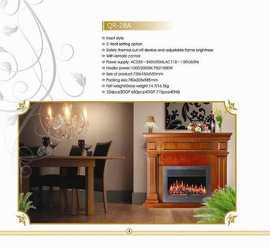 Qr 28a Electric Fireplace