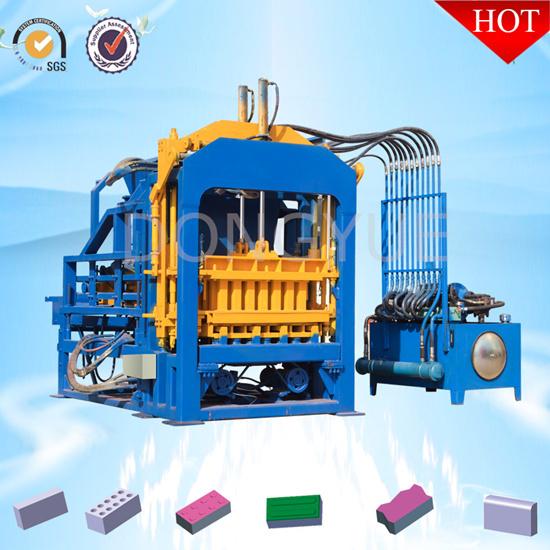 Qt4 15c Dongyue Hydraulic Concrete Hollow Block Making Machine