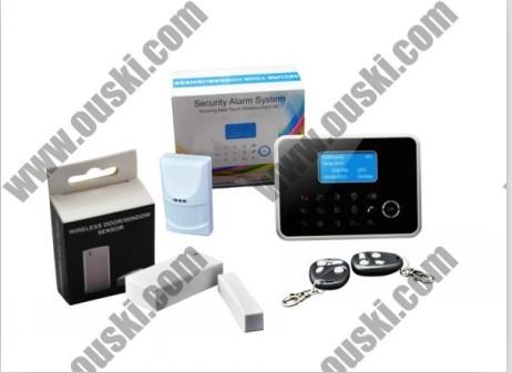Quad Band Gsm Pstn Intelligent Home Burglar Alarm System G6