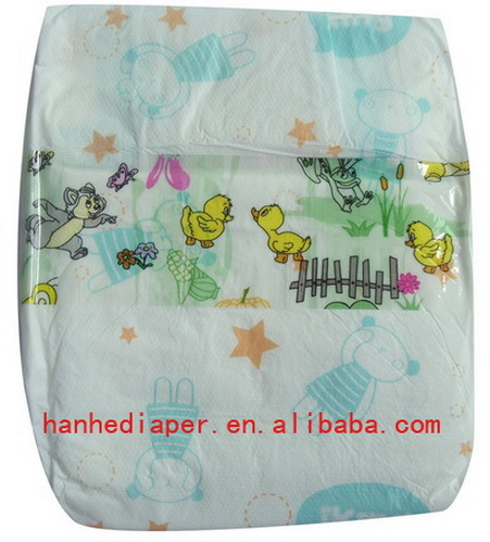 Quick Dry Baby Diapers With Good Absorb