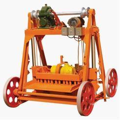 Qyj4 45003 Mobile Block Making Machine