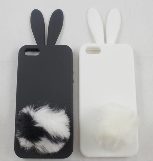 Rabbit Silicone Case For Iphone 4 Scrabbit