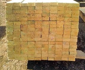 Radiata Pine Rough Sawn Lumber