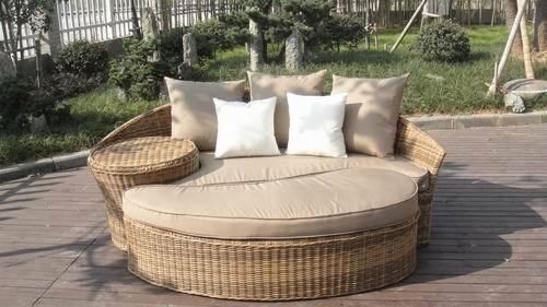 Rattan Outdoor Daybed With Cushion