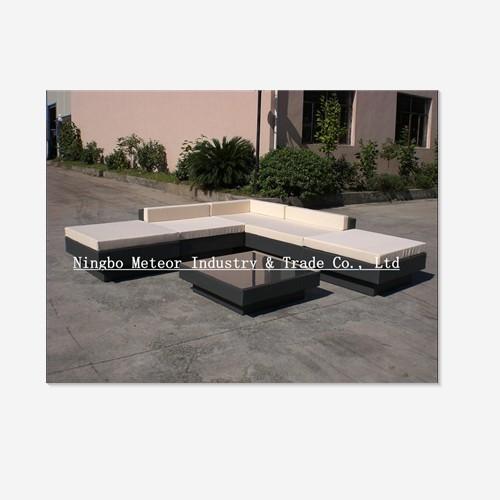 Rattan Stool Wicker Set Furniture Sofa Bed