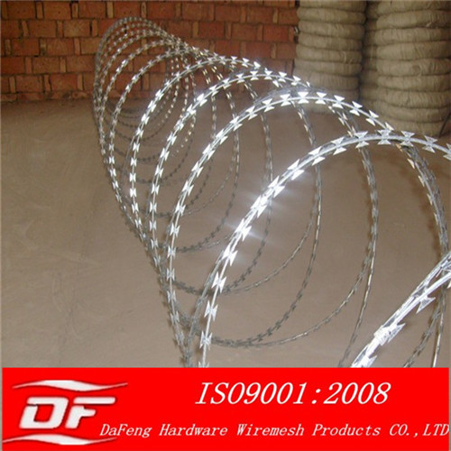 Razor Barbed Wire Mesh Galvanized