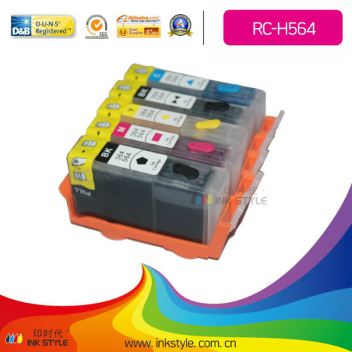 Rc H564 Refillable Cartridge For Hp 564 Wholesaler From China