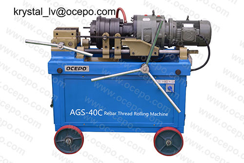 Rebar Taper And Parallel Threading Machine Ags 40c