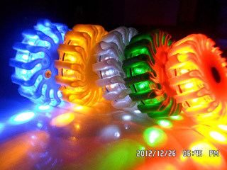 Recgargeable Led Power Flares Road