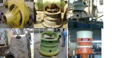 Reconditioning Of Cone Crusher