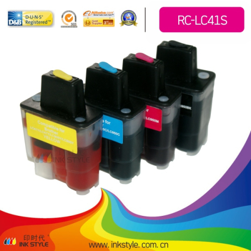 Refillable Cartridge For Brother Lc09 Lc41 Lc47 Lc900 Lc950