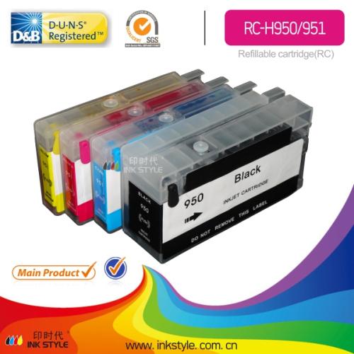 Refillable Cartridge For Hp Officejet Pro 8100 8600 Hp950 951cartridge