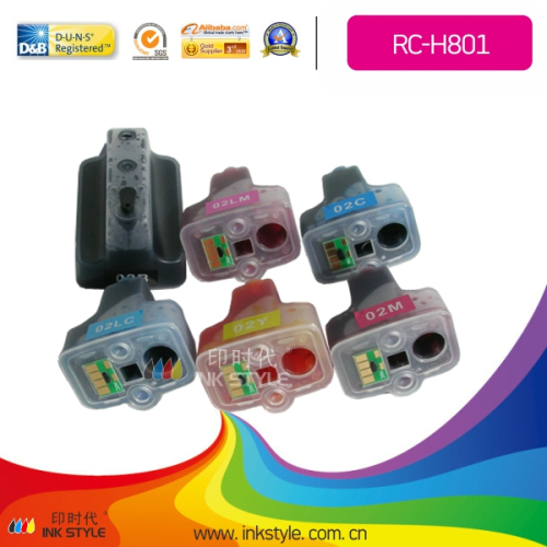 Refillable Cartridge For Hp801 Wholesale From China