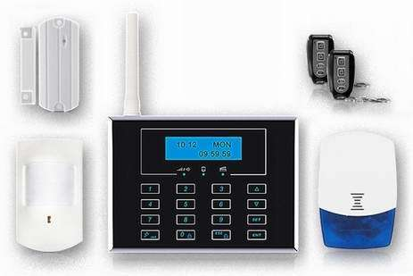 Remote Control Gsm Home Security Alarm System Fs Am221