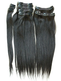Remy Clip On Hair Extension