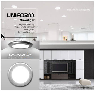 Renrgiz Uniform Full Moon Downlight