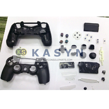 Replacement Protective Shell Case For Ps4 Controller Black Original