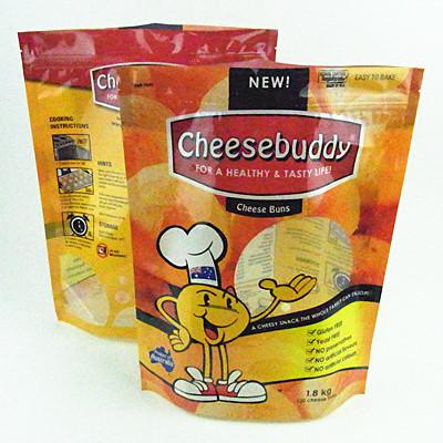 Resealable Plastic Cookie Packaging Food Bag