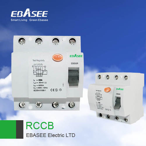 Residual Current Circuit Breake Ebs6r
