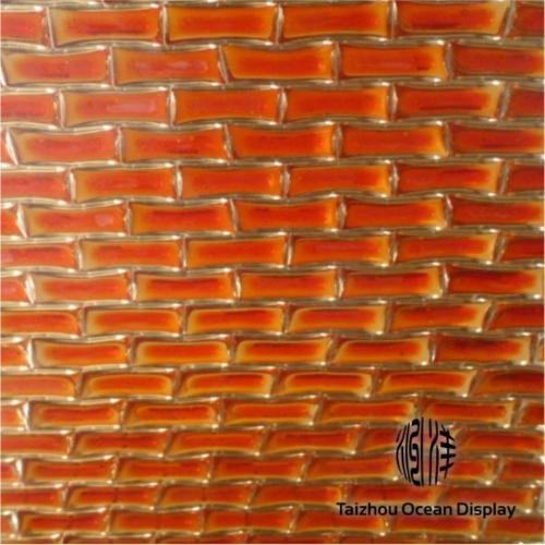 Resin Embossed Brick Aluminium Core Panel
