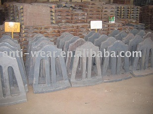 Retaining Ring Liners For Cement Mill