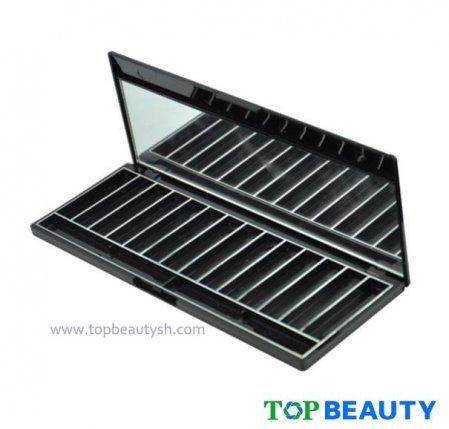 Retangle 14 Well Eyeshadow Compact Case With Mirror Ts1208